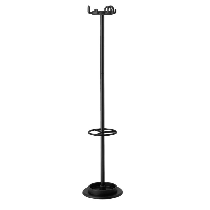 Aiuto - Coat stand with umbrella stand kit